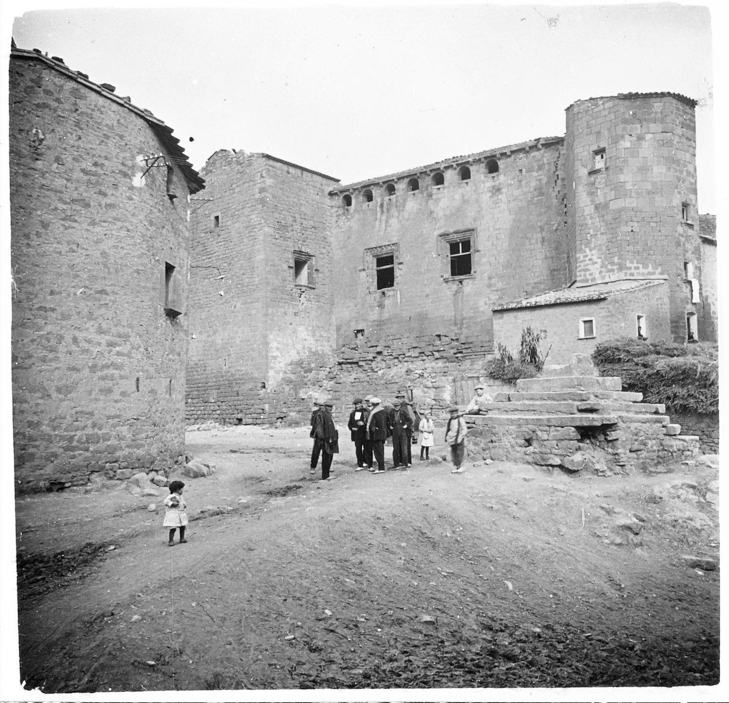 Vista antiga del castell